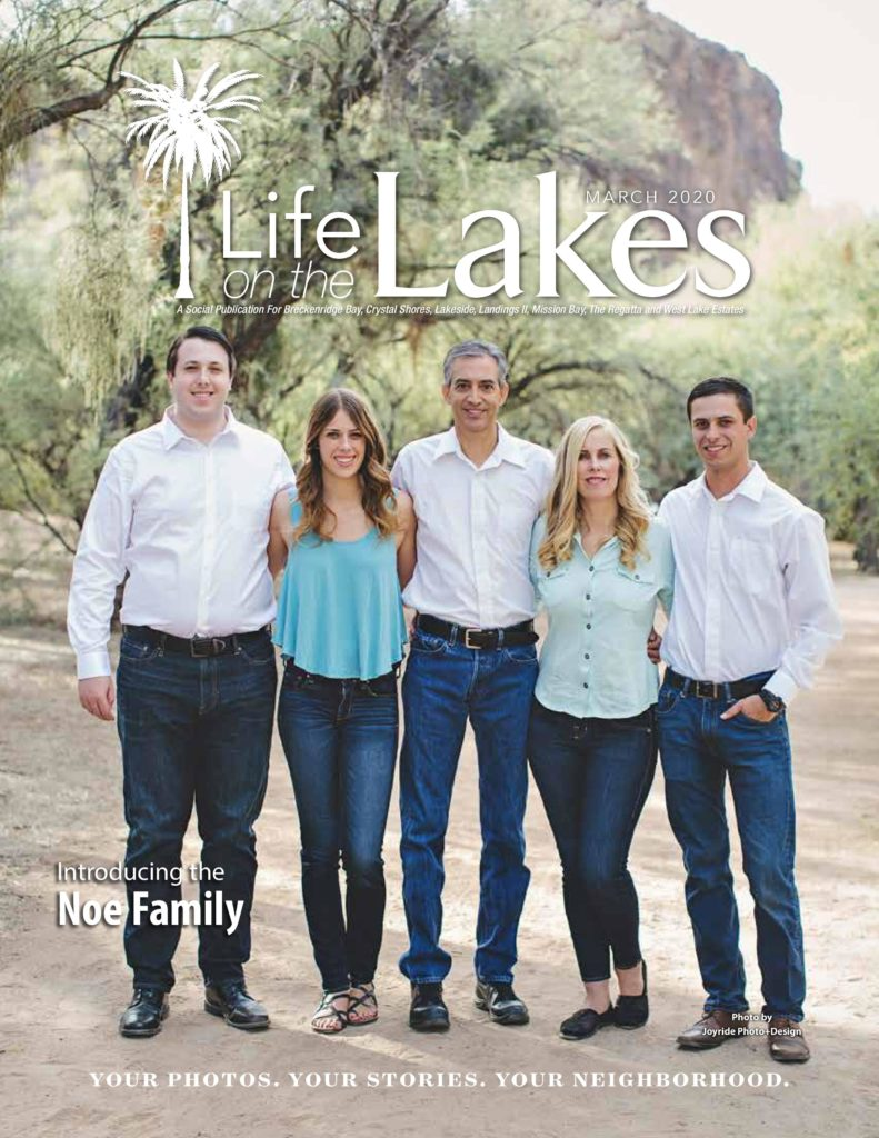 Cover The Noe Family Gives a Boost to Foster Families